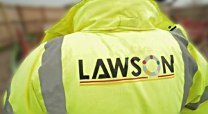 Lawson jacket logo