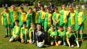 Henllan FC Juniors U 12's June 2015