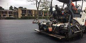 Maxi-Paver / Carpark construction